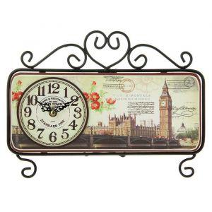 """Часы настольные """"Old Town"""", черные, 32х22 см 1586528"""