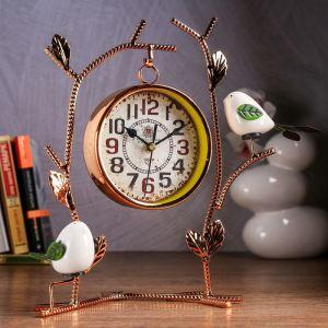 """Часы настольные """"Албюрг"""", 29х25х12.5 см, d=12 см, плавный ход   4599099"""