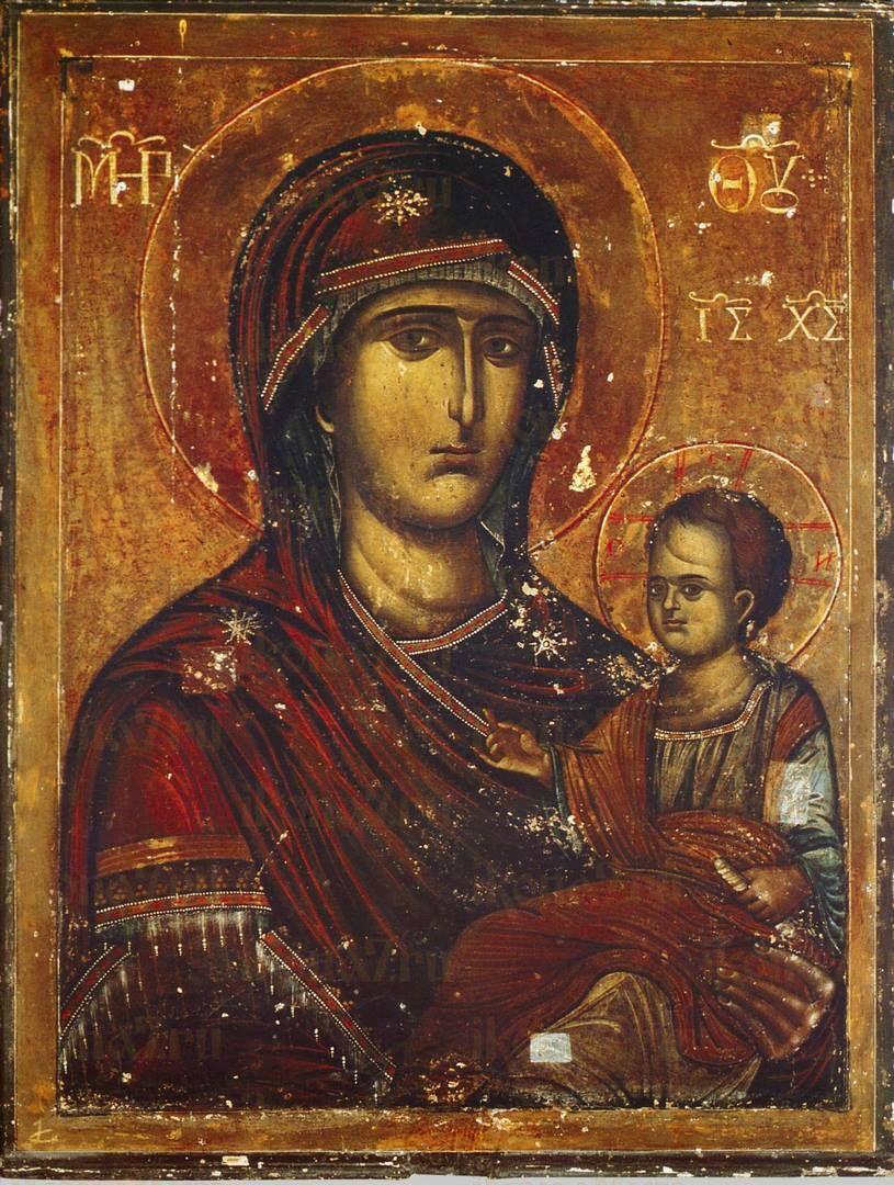Икона Пресвятой Богородицы Попская