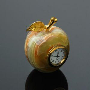 Часы «Яблоко», D=5 см, оникс 4198837