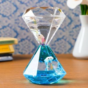 """Гелевые песочные часы """"Пинтано"""", 13х7.5 см, микс   4476141"""