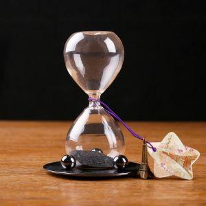 """Магнитные песочные часы """"Эйфелева башня"""", 8х13 см 127163"""