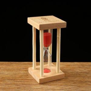 """Часы песочные """"Африн"""" на 3 минуты, микс, 8.5х4.2 см 1446282"""