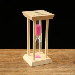 """Часы песочные """"Африн"""" на 5 минут, 4.5х9.5 см, микс 1147845"""