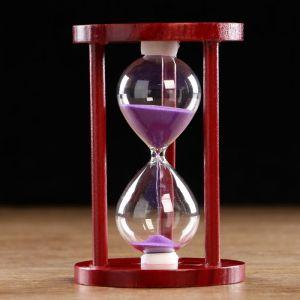 """Часы песочные """"Время"""" на 10 минут, 14х9 см, микс   4619271"""