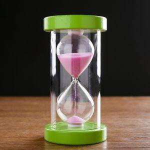 """Часы песочные """"Фрукты"""" на 10 минут, 14.5х8 см, микс   4619270"""