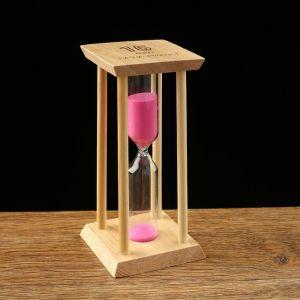 Часы песочные на 15 минут, 14х6.5х6.5 см, микс 1446286