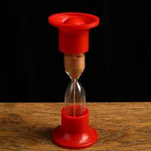 Часы песочные настольные на 1 минуту, упаковка пакет  микс 1546051