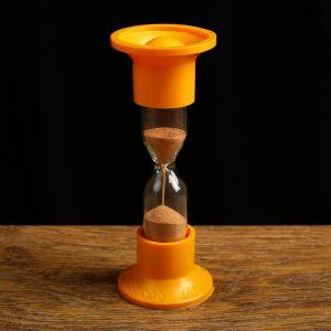 Часы песочные настольные на 2 минуты, упаковка пакет микс 1546052