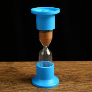 Часы песочные настольные на 5 минут, упаковка пакет МИКС 1546054