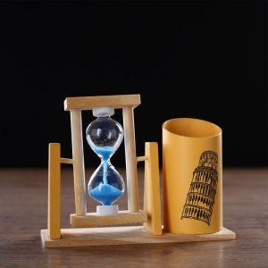 """Часы песочные """"Достопримечательности"""" с карандашницей, 9.5х13 см, микс 913700"""