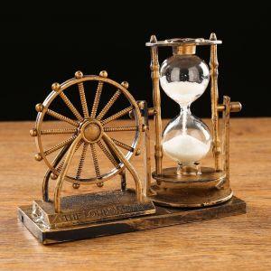 "Часы песочные ""Мемориал"", 15х12.5х6.5 см   4412107"