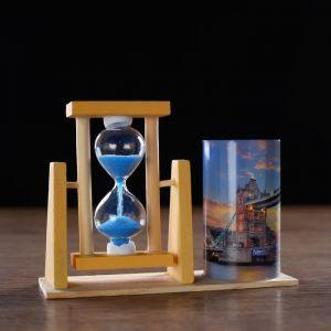 "Часы песочные ""Тауэрский мост"" с карандашницей, 12.5х4.5х9.3 см   4727123"