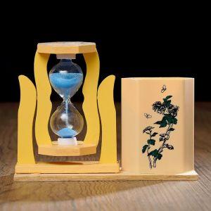 """Часы песочные """"Япония"""" с карандашницей, 5х13.5х10 см, микс 3572458"""