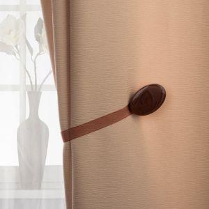 Подхват для штор, 5 ? 3,5 см, цвет коричневый