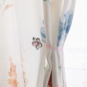 Подхват для штор «Цветок ромашка», d = 6 см, цвет розовый