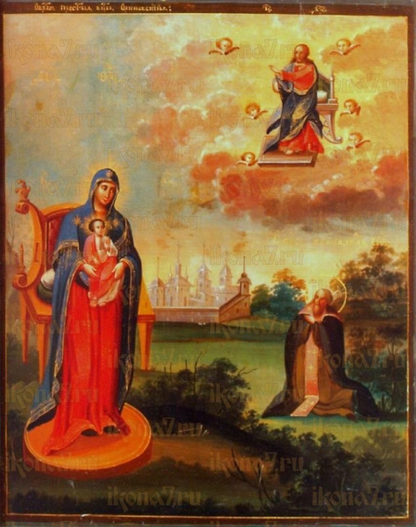Икона Пресвятой Богородицы Овиновская