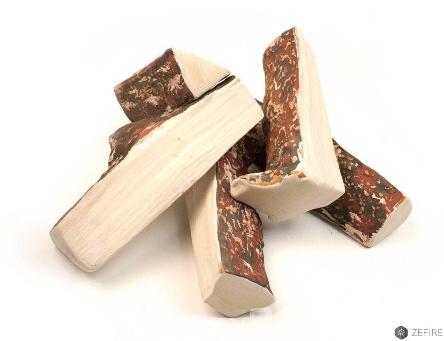 Керамические дрова сосна колотая - 5 шт