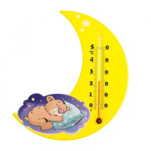 Термометр комнатный «Сувенир. П-17», основание - пластмасса, рисунок «Месяц»