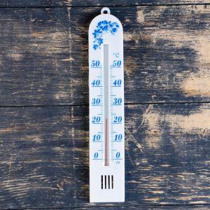 "Термометр комнатный ""Бланш"" (0°С<Т<+50°С), упаковка блистер микс 1546047"