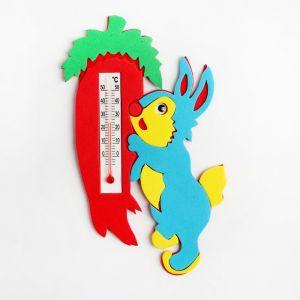 Термометр детский комнатный «Заяц», цвета МИКС