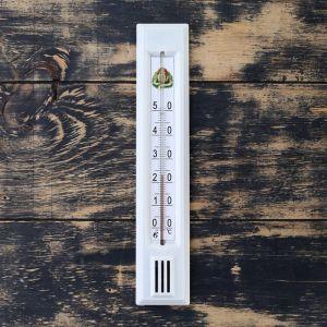 Термометр комнатный (0°С<Т<+50°С), упаковка картон микс 1546044
