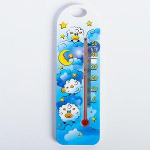 Термометр комнатный детский, цвет голубой