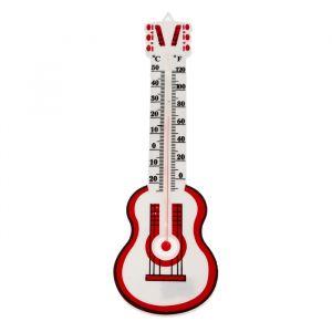 Термометр спиртовой LuazON, уличный, гитара, пластик 669276