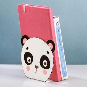 Держатель для книг металлический «Мордочка панды»   3982142