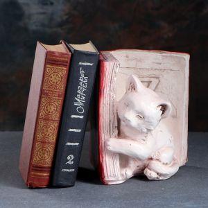 """Подставка для книг """"Котята"""", состаренный, цвет коричневый, 20 см  1659363"""