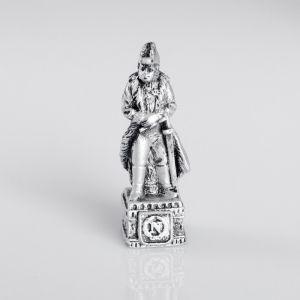"""Сувенир полистоун """"Офицер Французской империи"""", серебряный 4457365"""