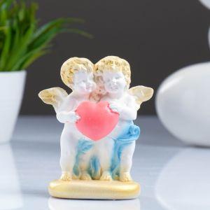 """Фигура """"Ангелочки маленькие на подставке"""" 11см   4116431"""