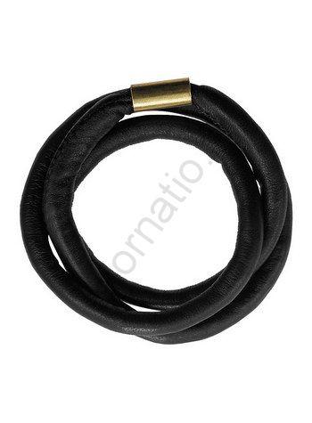 Браслет PILGRIM 421149004. Коллекция Gold black