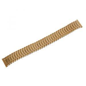 Ремешок для часов 18 мм, металл, золотой, 15 см 1716870
