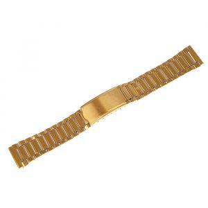 Ремешок для часов 18 мм, металл, золотой, 16 см 1716865