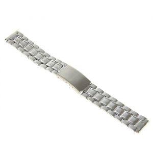 Ремешок для часов 18 мм, металл, протектор звенья, медь, 18 см 1992016
