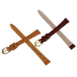 Ремешок для часов, женский, 10 мм, натуральная кожа, коричневый микс 1182095