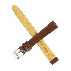 Ремешок для часов, женский, 12 мм, натуральная кожа, коричневый. микс 1182122