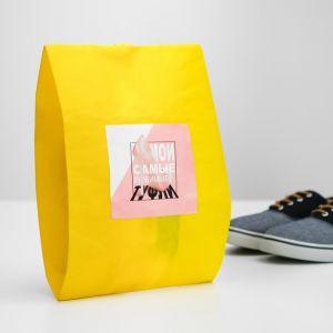 """Мешок для обуви """"Мои самые любимые туфли""""  женский  4452171"""