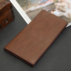 Портмоне мужское, 2 отдела, для карт, с вкладышем, цвет коричневый
