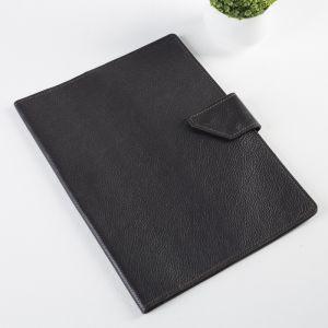 Папка для документов на кнопке, 1 комплект, цвет коричневый