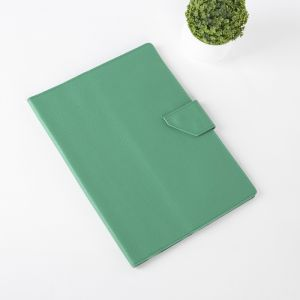 Папка для документов на кнопке, 1 комплект, цвет зелёный