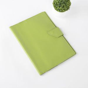 Папка для документов на кнопке, 1 комплект, цвет салатовый