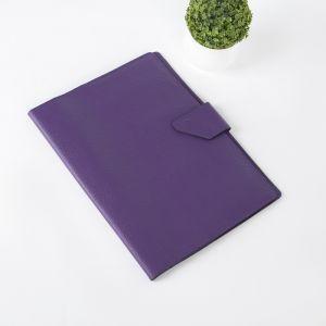 Папка для документов на кнопке, 1 комплект, цвет фиолетовый