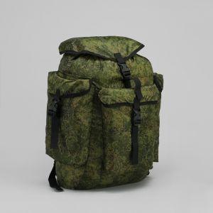 """Рюкзак туристический """"Лесник"""", 55 л, отдел на шнурке, 3 наружных кармана, цвет камуфляж"""