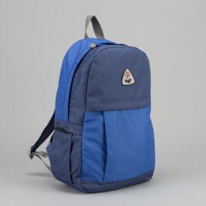 Рюкзак туристический, 21 л, отдел на молнии, наружный карман, цвет синий/васильковый