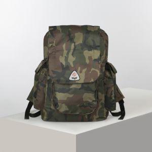 Рюкзак турист Виатор, 40л, отд на шнурке, 3 н/кармана, зелный 4931725