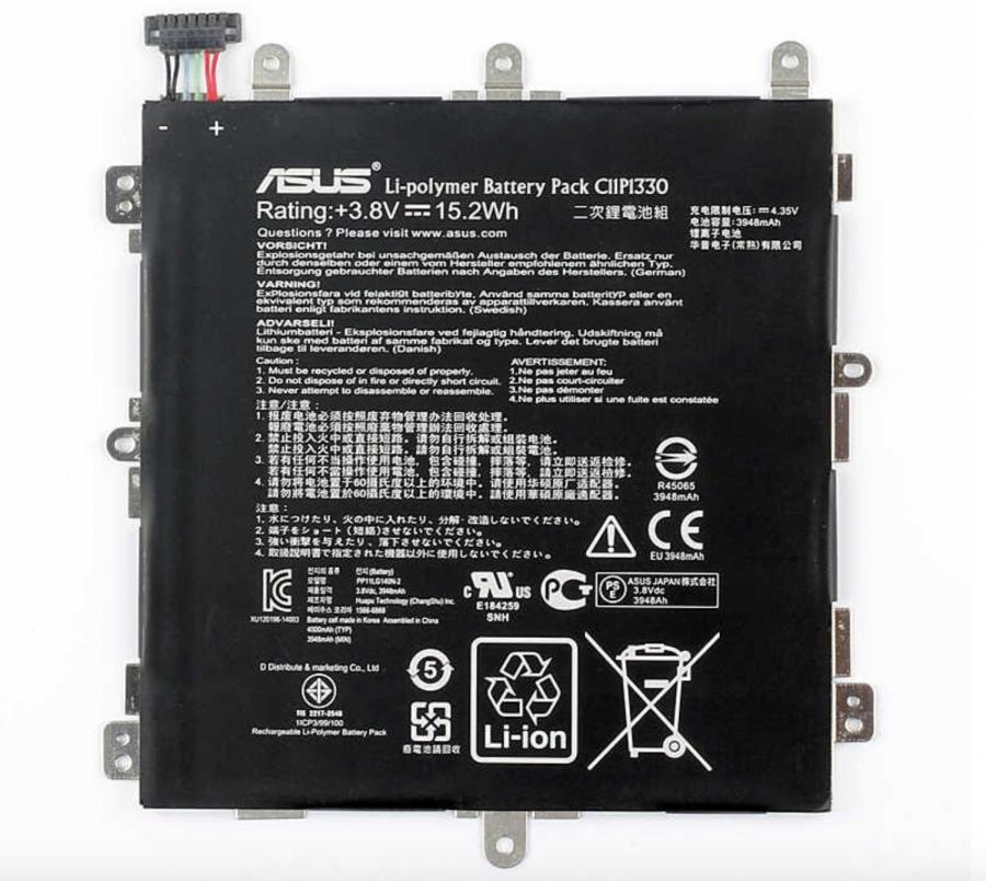 Аккумулятор Asus ME581CL MeMO Pad 8 (C11P1330) Оригинал