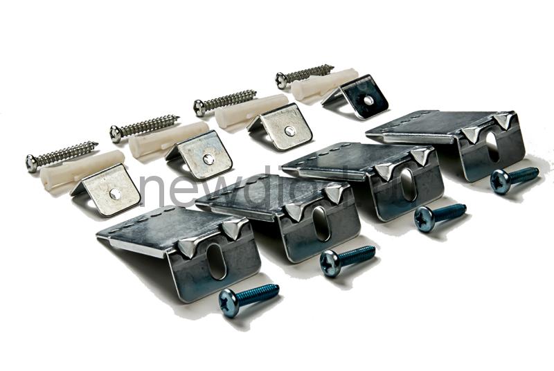 Комплект подвесов LP-КПП-Д потолочный ДЛИННЫЙ для панели светодиодной ультратонкой IN HOME