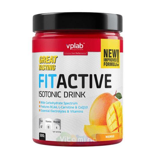 VPLab Изотонический напиток FitActive Fitness Drink, 500 гр